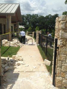 Repair Fence Pillars Austin