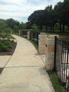 Iron Fence Repair Austin
