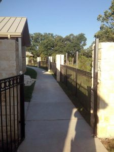 Retirement Center – Repair Fence Pillars
