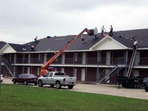 Building Roofing Repair